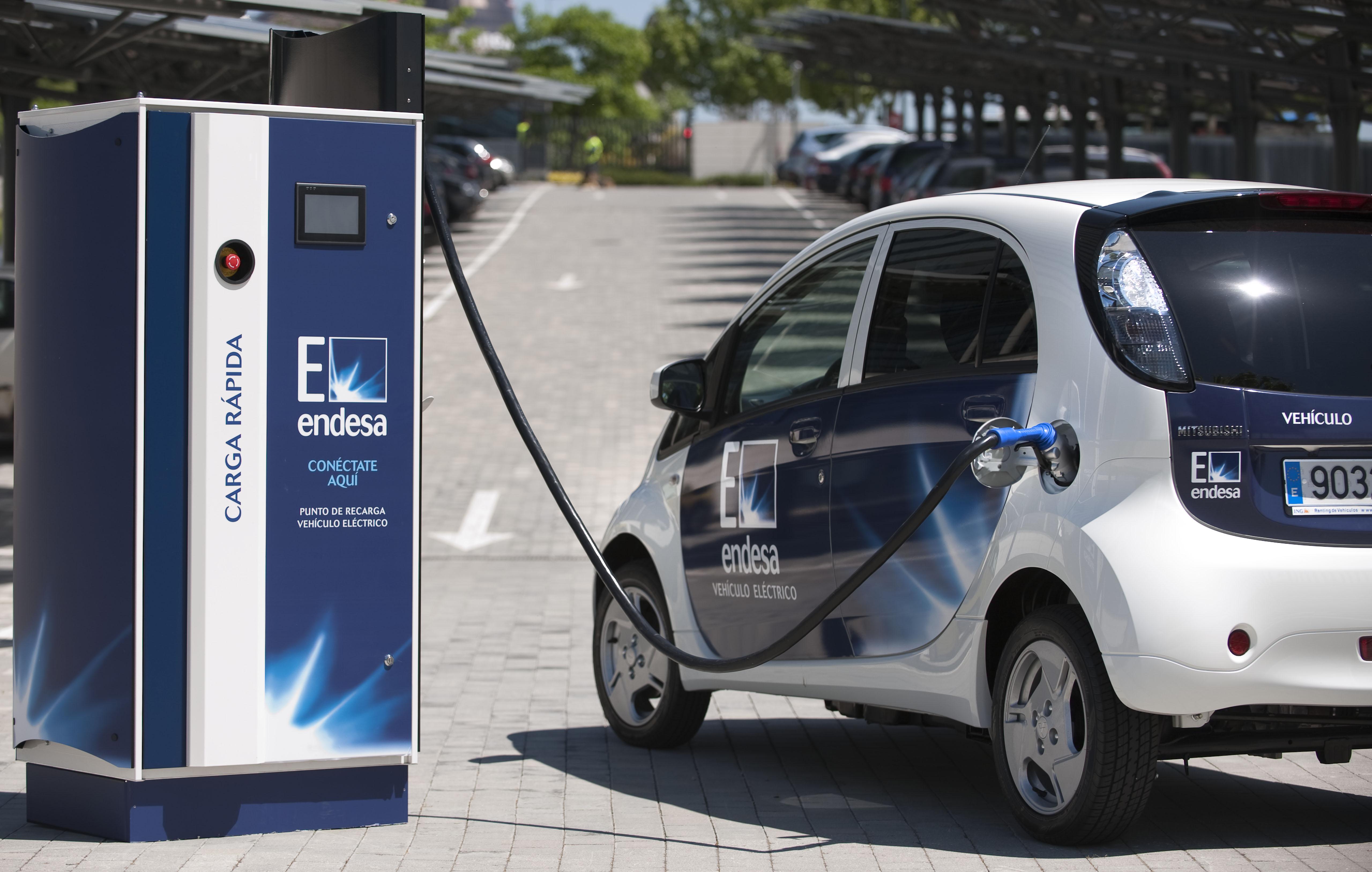 punto recarga vehiculo electrico endesa
