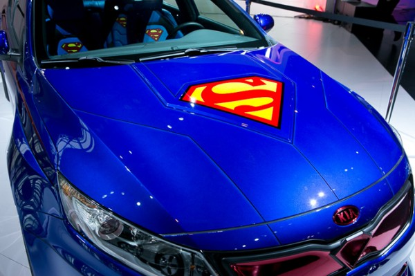 Kia Optima, el coche de Superman