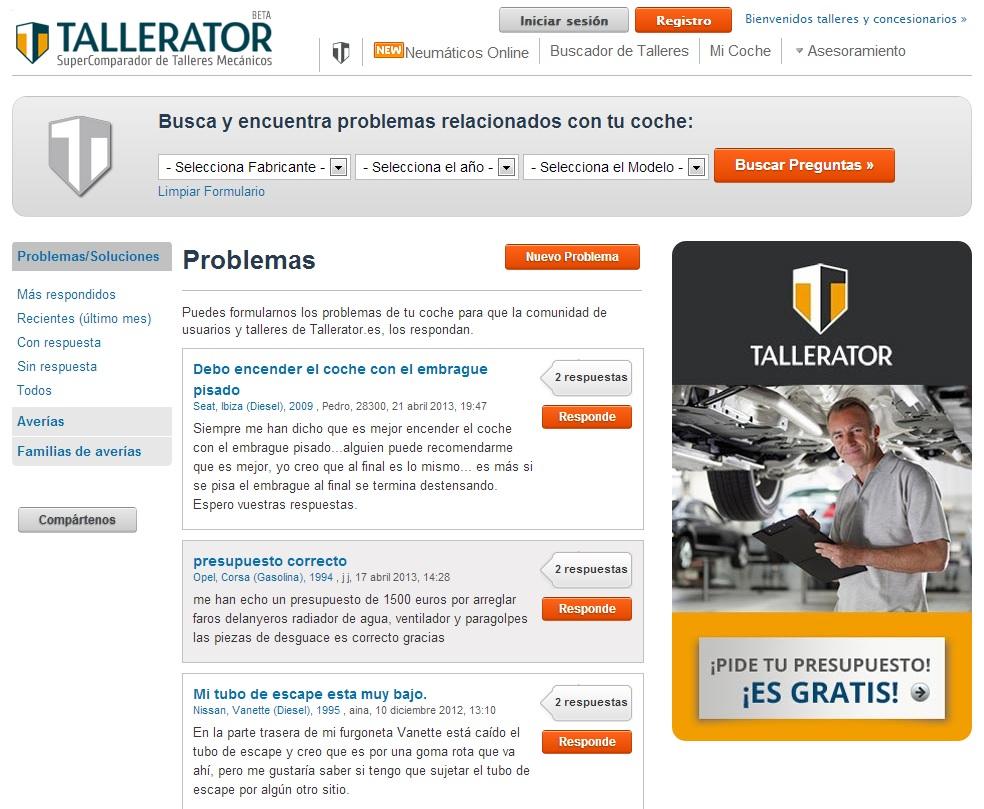 consultorio mecanico tallerator