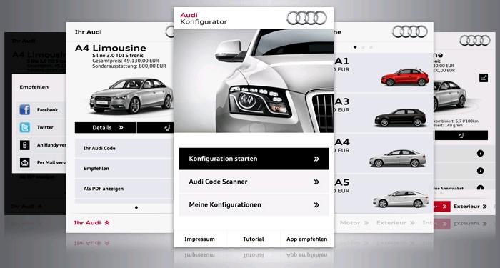 Audi Konfigurator App
