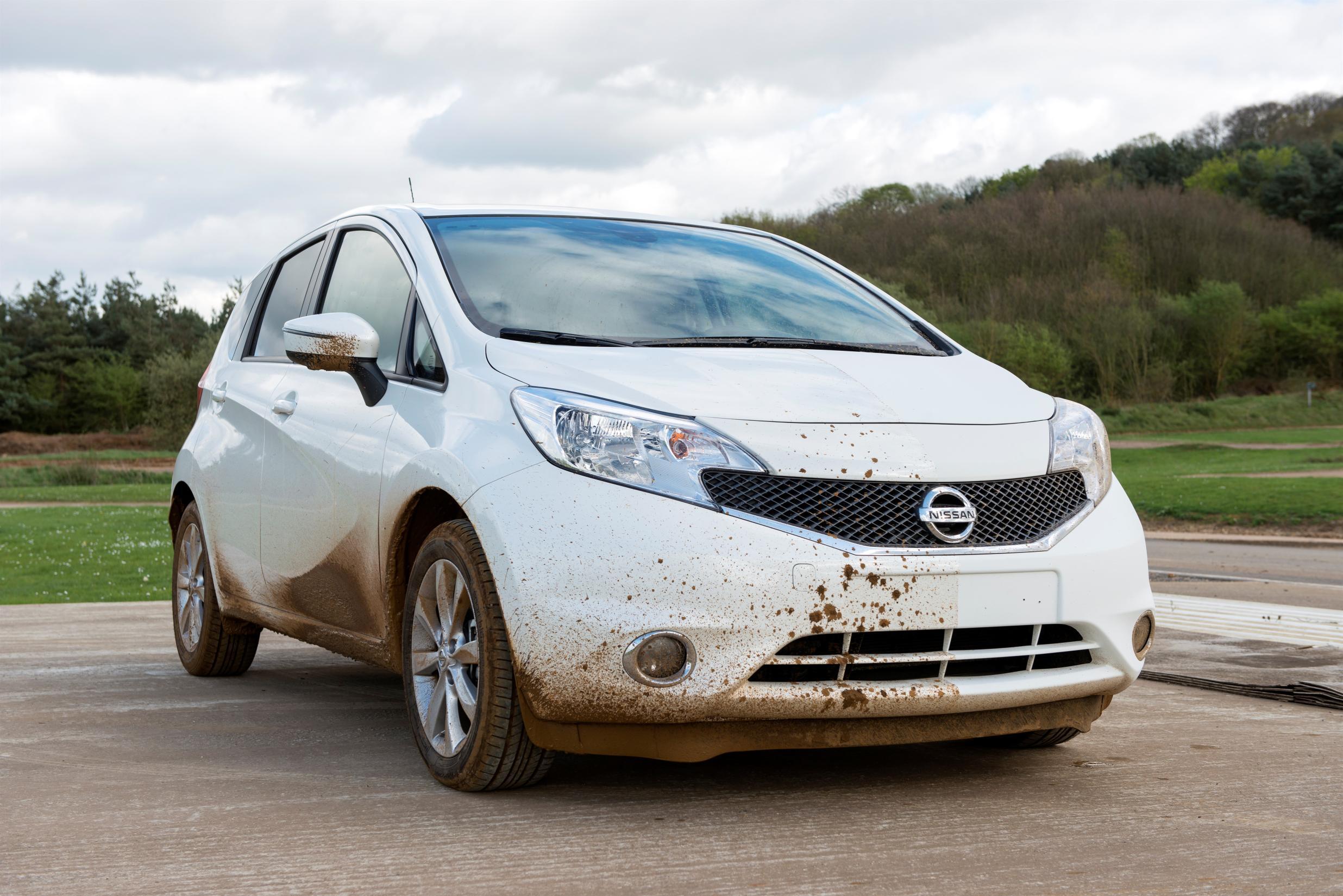 Nissan Note coche autolimpiable