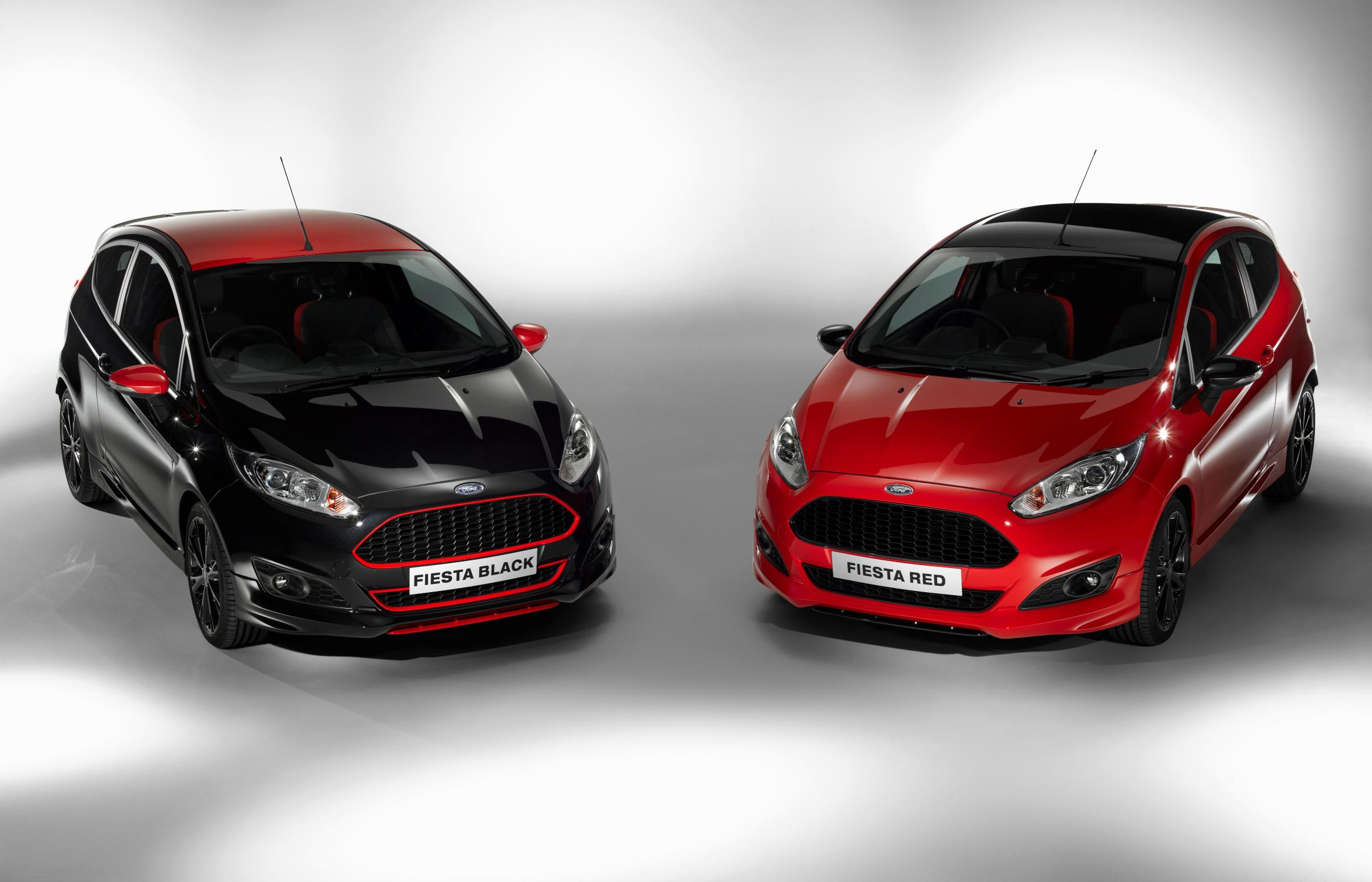 Ford Fiesta Black Red Edition 2014