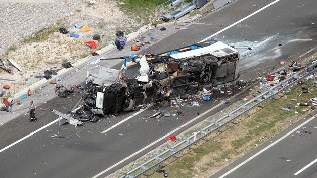 accidente autobus