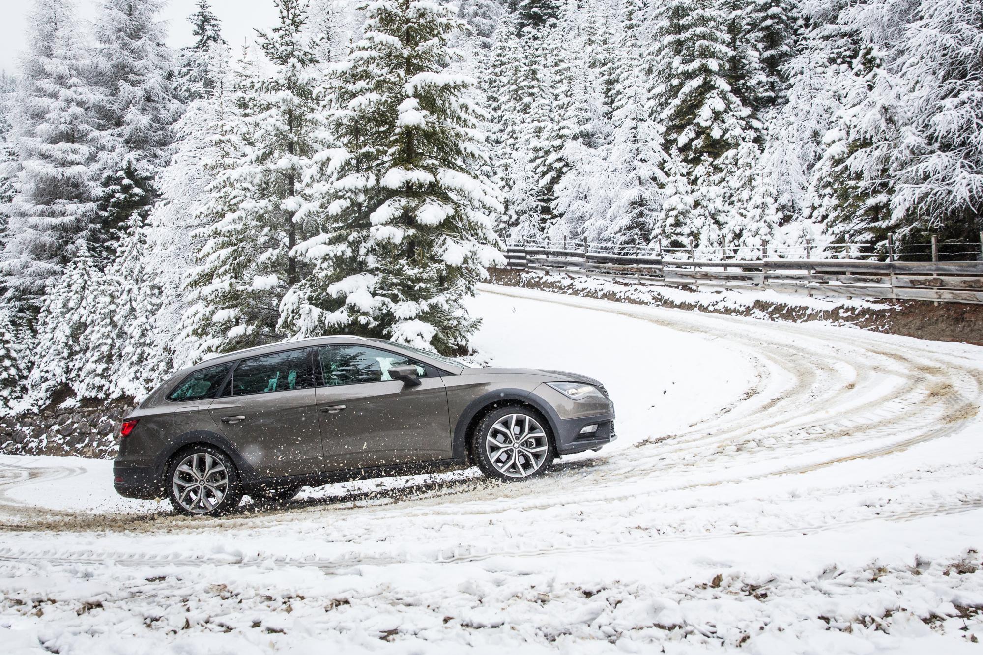seat consejos conduccion nieve