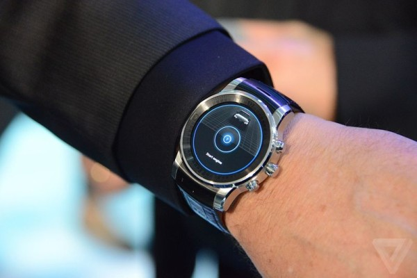 LG smartwatch wearable Audi