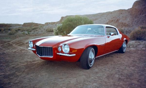 Chevrolet Camaro Un Modelo De 1970