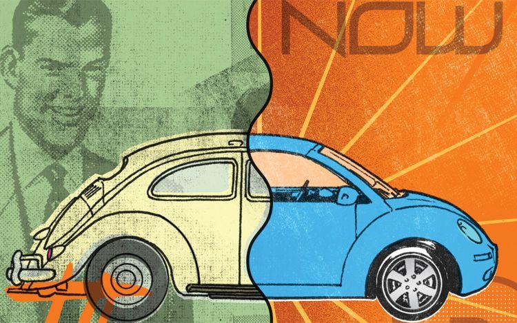 La Evoluci 243 N Del Dise 241 O Del Volkswagen Beetle A Lo Largo