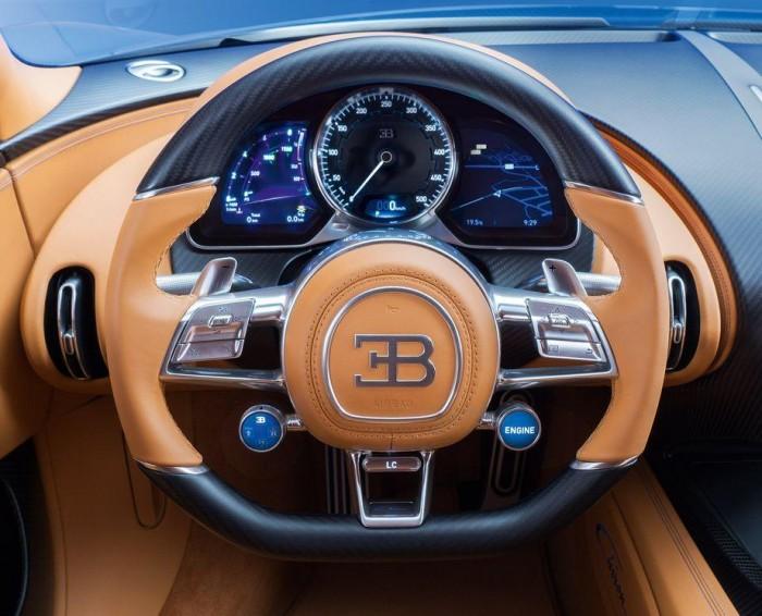 Nos encanta este detalle del Bugatti Chiron