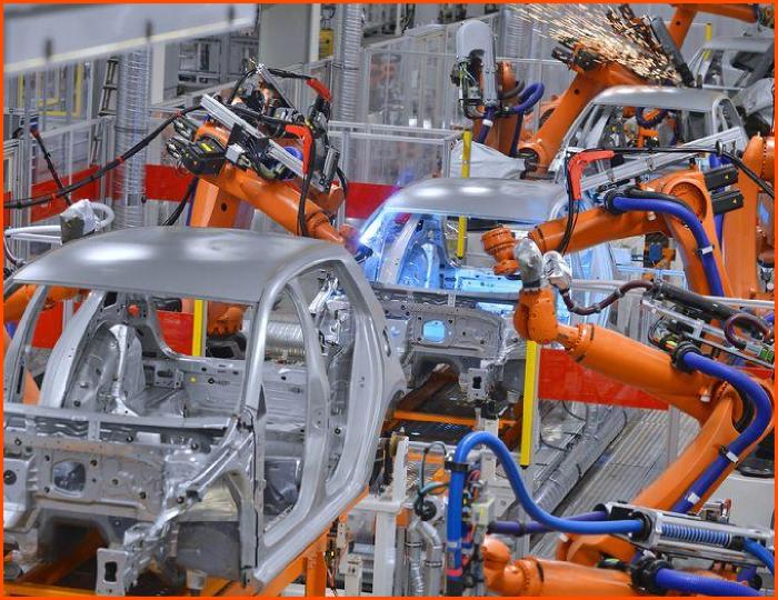 Estados Unidos: industria automotriz compra cada segundo robot industrial