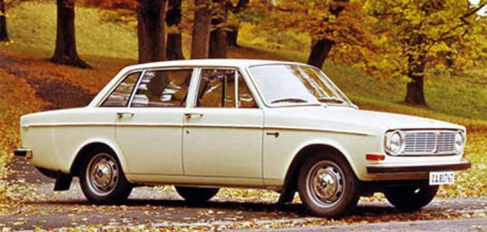 1968 Volvo - the onw owned by R A Demers was dark green.