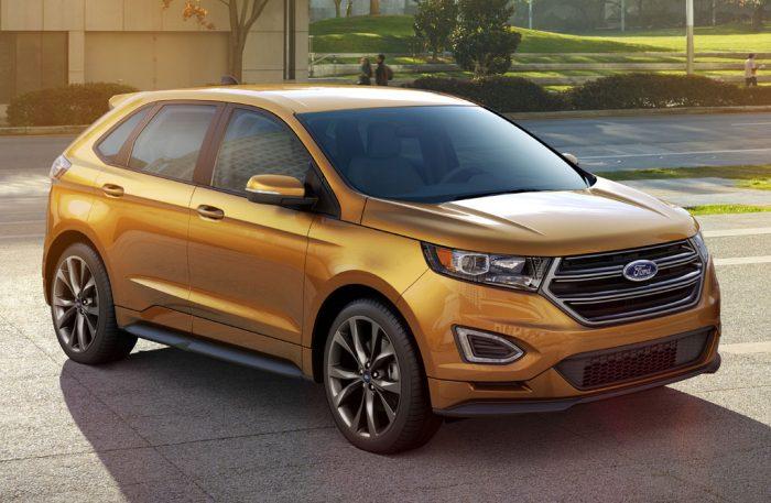 Nuevo Ford Edge: ataque a VW Touareg y BMW X5