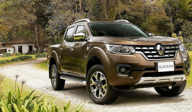 Renault Alaskan, el pick up gemelo del Nissan Navara