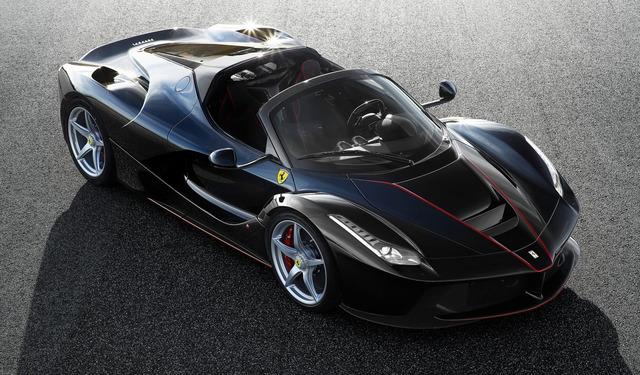Ferrari LaFerrari, ahora en versi�n cabrio