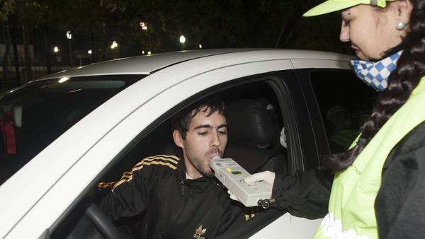 Un conductor vasco bate el r�cord del mundo en un control de alcoholemia