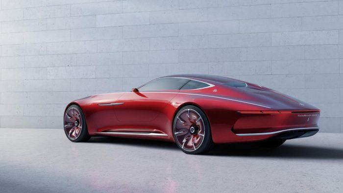 Primeras im�genes del fant�stico prototipo Vision Mercedes-Maybach 6