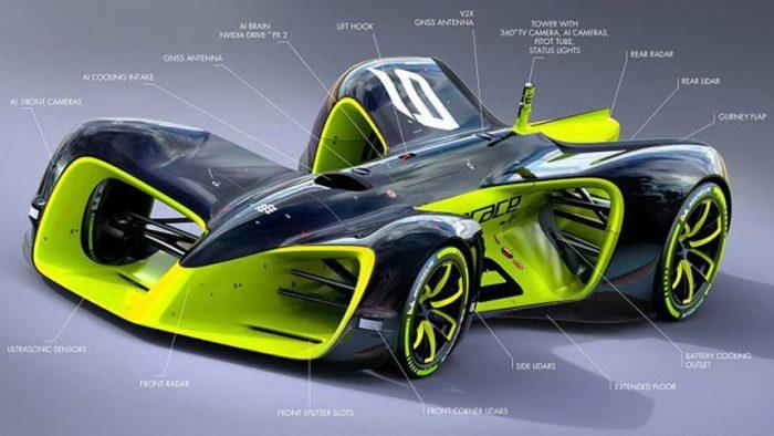 Roborace: as� es la F�rmula 1 de los coches sin piloto