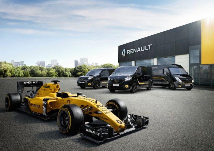La gama de furgonetas Renault Pro+: un homenaje a la F�rmula 1