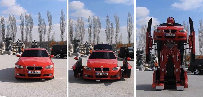 El Transformers BMW existe y es as�