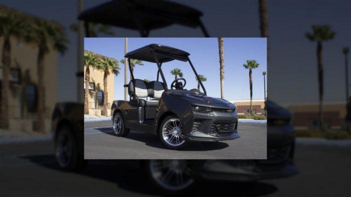 El Chevrolet Camaro Fifty, un lujoso carrito de golf