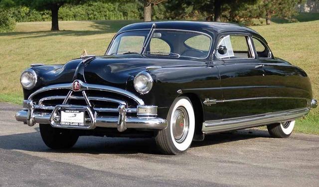 Hudson Hornet de 1951: el clásico resucitado gracias a la película Cars