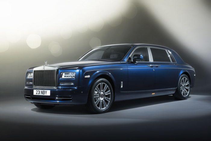 Adi�s al Rolls Royce Phantom