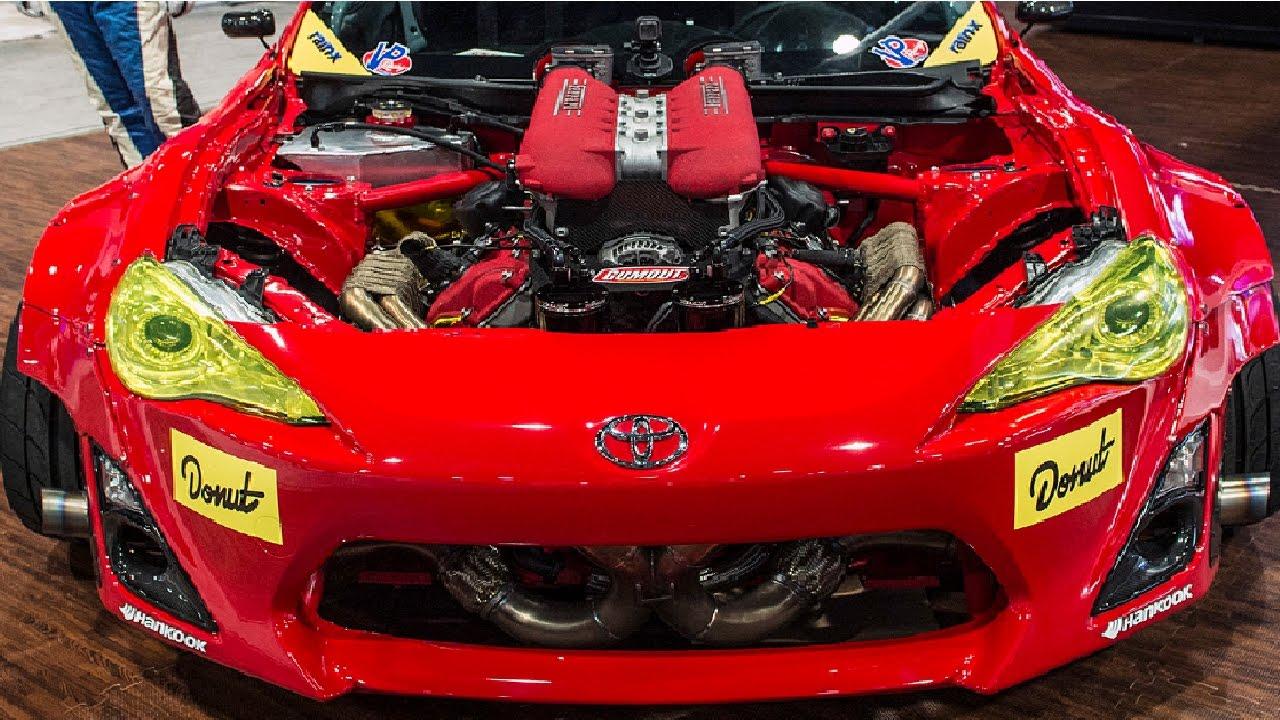 Gumout Gt4586 Un Toyota Con Un Motor De Ferrari