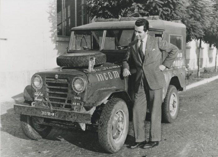 Alfa Romeo Matta de 1952, el primer SUV de la historia de la marca