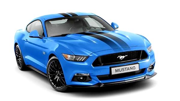 Ford Mustang Black Shadow & Blue Edition