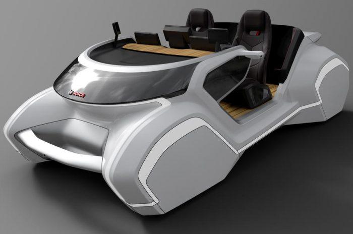 """Bosch presenta en Las Vegas un control de cabina para el """"coche del futuro"""""""