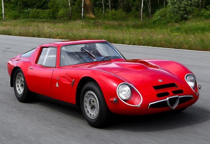 La breve vida del Alfa Romeo Giulia TZ2