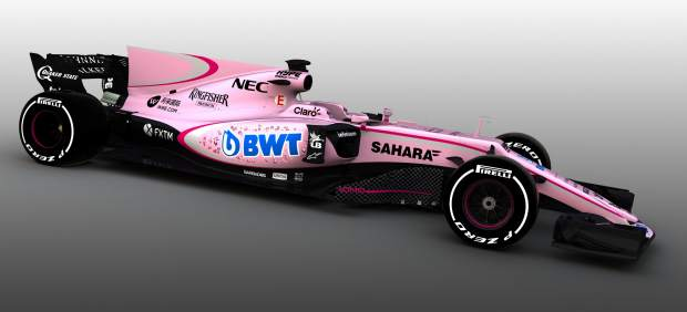 Force India: la Formula 1, color de rosa