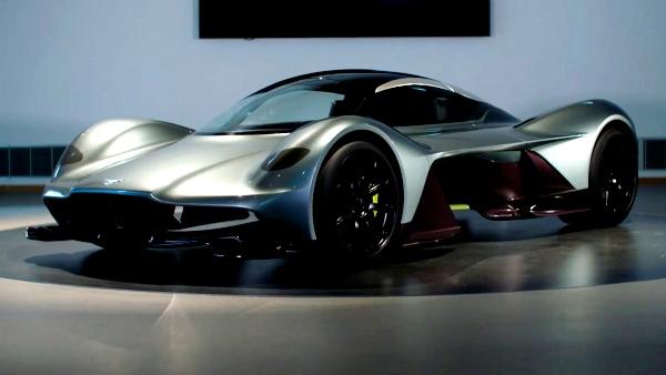 Aston Martin Valkyrie, un modelo sorprendente