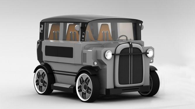 Mirrowcars, los pequeños coches urbanos que llegan de Rusia