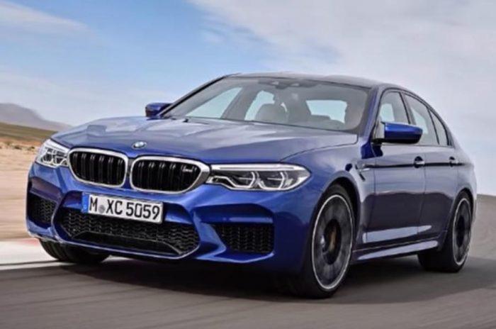 Así de bestia es el BMW M5 2017