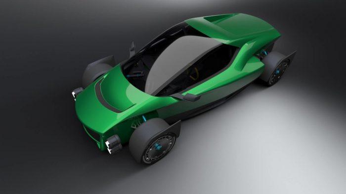 XING Mobility Miss R, el temido rival del Tesla Roadster que viene de Taiwan (vídeo)