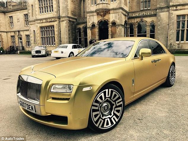 El Rolls Royce Ghost Dorado Que S 243 Lo Puedes Comprar Con