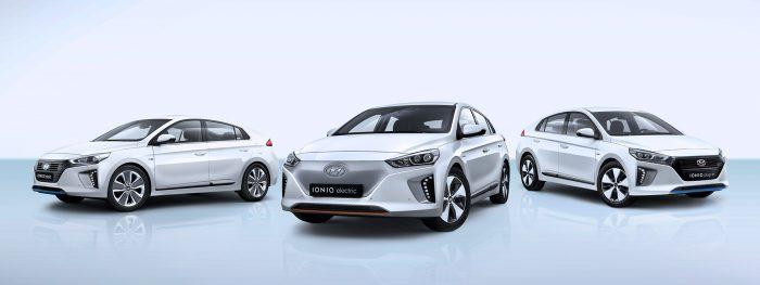 Hyundai IONIQ, el favorito de las conductoras