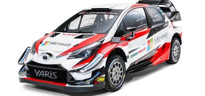 Toyota Yaris WRC 2018, las primeras imágenes