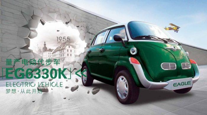 El legendario BMW Isetta resucita en China (como coche eléctrico)