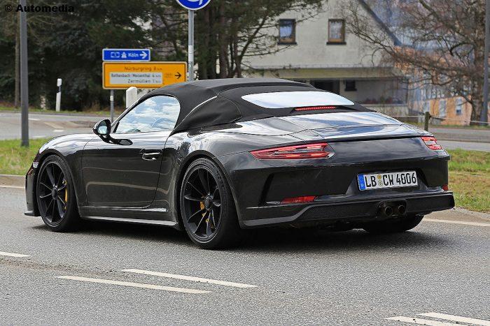 Nuevo Porsche 911 Speedster 2018 ? primeras imágenes ?