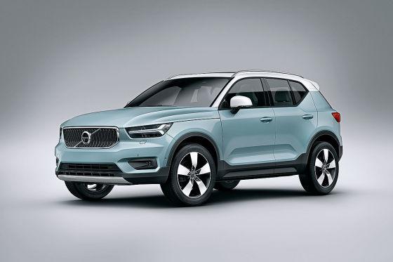 Volvo presenta el nuevo XC40 con motor de tres cilindros como base