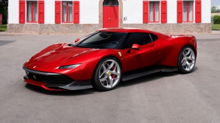 Ferrari SP38, el espectacular último one-off de Maranello