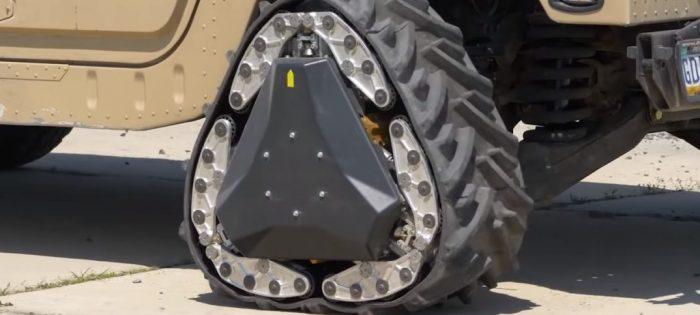 Darpa, la increíble rueda todoterreno del futuro (vídeo)