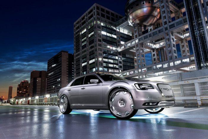 Chrysler 300C, tuneado al gusto japonés