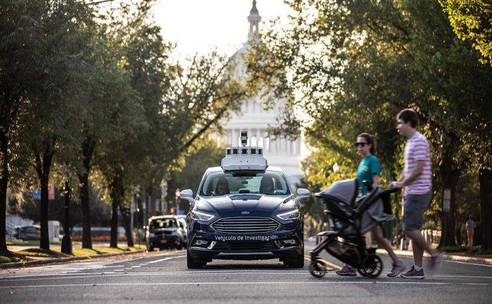 La compañía Ford tiene planes para una flota de vehículos autónomos por las calles de Washington D.C.