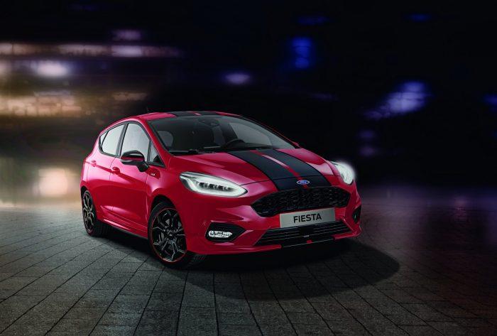 Ford Fiesta ST-Line 2019: rojo y negro