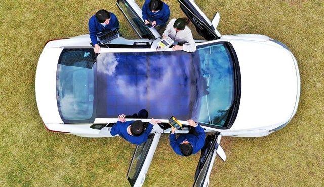 Hyundai: paneles solares para coches ecológicos