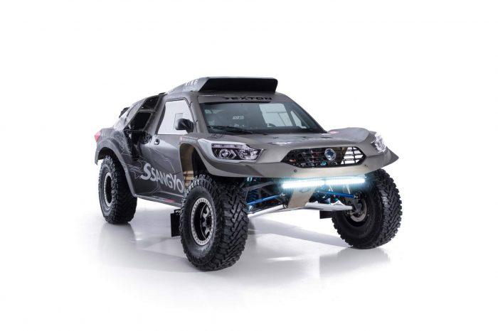 SsangYong Rexton DKR, listo para el Rally Dakar