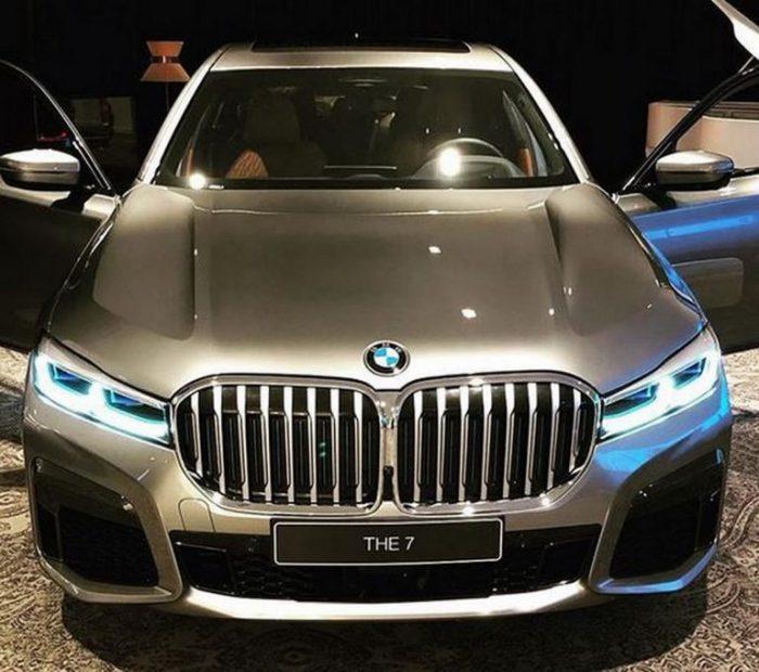 La espectacular evolución del frontal del BMW Serie 7