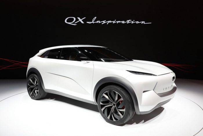 Infiniti QX Inspiration: un debut accidentado